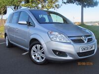 ZAFIRA 18. ELITE TOP OF THE RANGE , FULL LEATHER, EXCELLENT CONDITION, BARGAIN