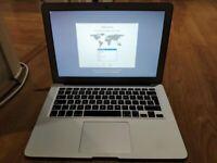 MacBook Air 13 inch, Mid 2013, i7, 8gb, 500gb