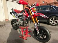Pit Bike Supermoto CW160r - 2016 - CRF110 - 20HP - not stomp, m2r, wpb, lmx