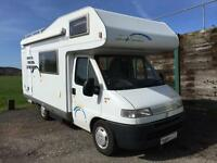 2001 Five Berth Hymer Swing 544 Motorhome