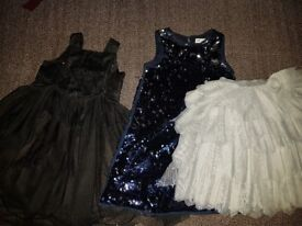 Girls party dresses and skirt £6