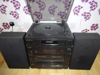 Bush Hifi System - Twin Cassette Midi System with CD Player