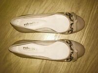 Ladies flats brand new in beige size 4 (true to size)