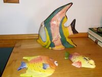 Large fish ornament and wall ornament