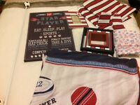 Boys football bedroom set