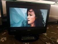Technika, X19/14B-GB-TCD-UK,19inch LCD built in freeview hd mi port with combi DVD player with remot