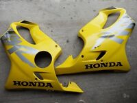 Honda CBR 600FY Left and Right Fairing (Yellow)