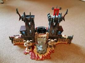 Mega bloks Fire and Ice Dragons- Portal of Fire
