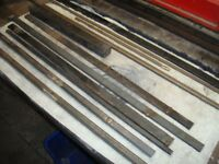 Steel all different sizes Box Section Flat Bar and some scrolls Ideal DIY Garage. Loads of off cuts.