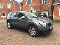 2010 NISSAN QASHQAI 1.5 DIESEL, FULL SERVICE HISTORY, 1 KEEPER, MOT 11 MONTHS, TIMING BELT KIT DONE