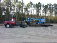 Float for hire transportation flatbed van reefer ontario freight