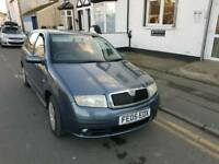 05 PLATE SKODA FABIA. 1.2 PETROL. DRIVES WELL. PX TO CLEAR