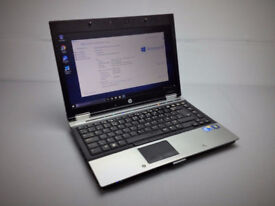 "HP ELITEBOOK 8440p 14.1"" LAPTOP, FAST CORE i5 2x 2.80GHZ, 4GB, 250GB, WIFI, DVDRW, BLUETOOTH, OFFICE"