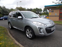 PEUGEOT 4007 GT TD DIESEL 7 SEATER 4X4 MPV SILVER 2007 ONLY 71K MILES BARGAIN 3750 *LOOK*PX/DELIVERY