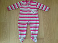 Collection of 18-24 M&S sleepsuits, Next casual bottoms £5.00