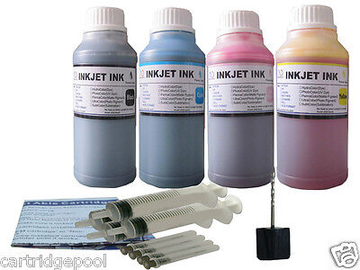 Refill Ink Kit For Canon Pg-40 Cl-41 Pixma Ip1600 Ip1700 ...