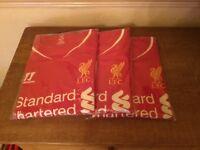 Lfc autographed shirts