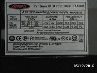 ATX 12V switching power supply MAX550W