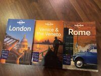 Lonely Planet London, Rome, Venice & the Veneto