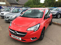 2015 STUNNING VAUXHALL CORSA SRI 1.2L///IDEAL FIRST CAR///ALLOYS AND GREAT SPEC