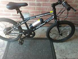 Bmx style electric bike as new been used twice