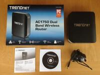 TrendNet AC1750 Dual Band Wireless Router - Boxed, like new