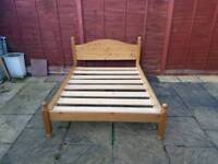 Double bed frame only