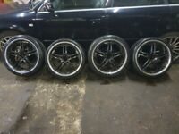 BMW FINICHI 19 INCH ALLOYS AND TYRES 5 X 120