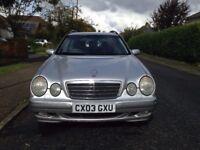Mercedes E220 CDI Elegance estate 2003