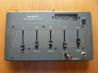 Genexxa Stereo Audio Mixer, 5 inputs, 4 channel