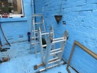Ladders for sale - buy both or one - £10.00 for small one and £30.00 for the extendable one