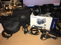 Sony cybershot DSCh9 and telephoto lens