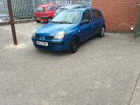 Renault Clio 2003 5door very cheap £299ono