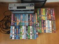 Video player with 46 Disney videos