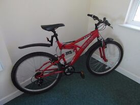 TRAX UNISEX MOUNTAIN BIKE - EXCELLENT CONDITION