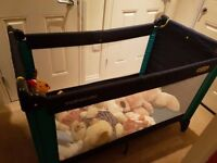 Mothercare travel cot bed