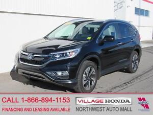 2015 Honda CR-V Touring AWD | Local | One Owner | No Accidents