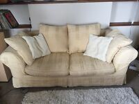 Sofa Bed with Loose Covers.