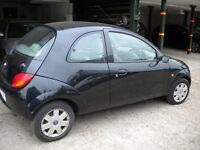 Ford KA 1300 cc 2001 X Reg, BLACK !!! BREAKING FOR PARTS ONLY !!!