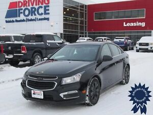 2015 Chevrolet Cruze LT, Satellite Radio, 24,066 KMs, 1.4L 4 Cyl