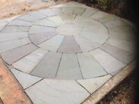Stone circle squared ( natural ) marshal
