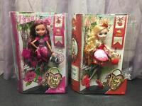 New Ever After High Dolls