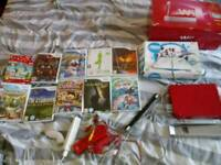 Red Wii 25th anniversary Bundle RARE