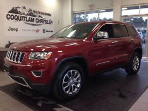 2014 Jeep Grand Cherokee Limited 4WD Leather Sunroof Loaded Allo