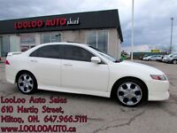 2004 Acura TSX Leather Chrome Certified 2 Year Warranty