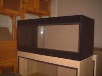 brand new 3ft vivarium in black
