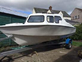 PRICE DROP offers . Need gone will swap 18ft Microplus fishing boat and trailer