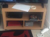 Tv stand, light oak effect