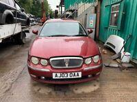 BREAKING Rover 75 Club SE 1.8 Red Saloon door bumper wing window glass front rear offside nearside