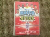 Match Attax collection binder + cards